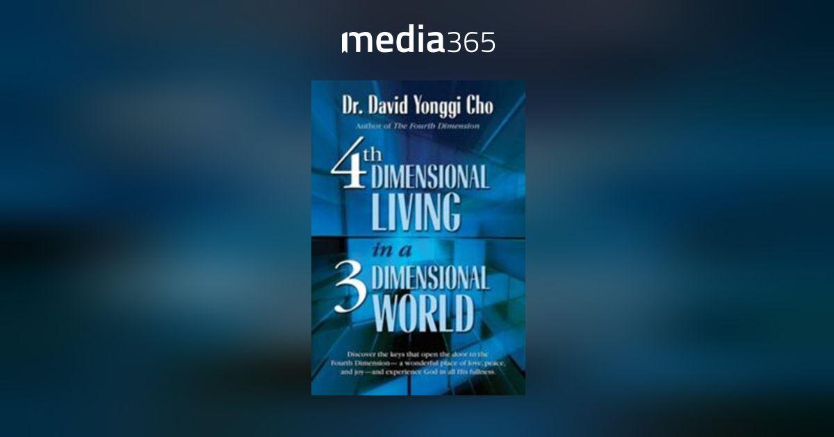 Fourth Dimension Book By Yonggi Cho Pdf
