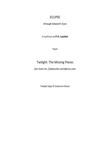 Twilight The Missing Pieces Pdf