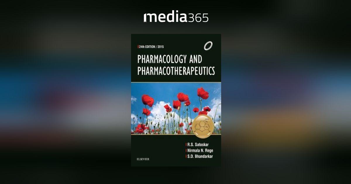 Satoskar Pharmacology Pdf