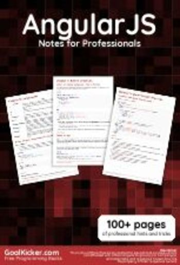 AngularJS Notes for Professionals PDF