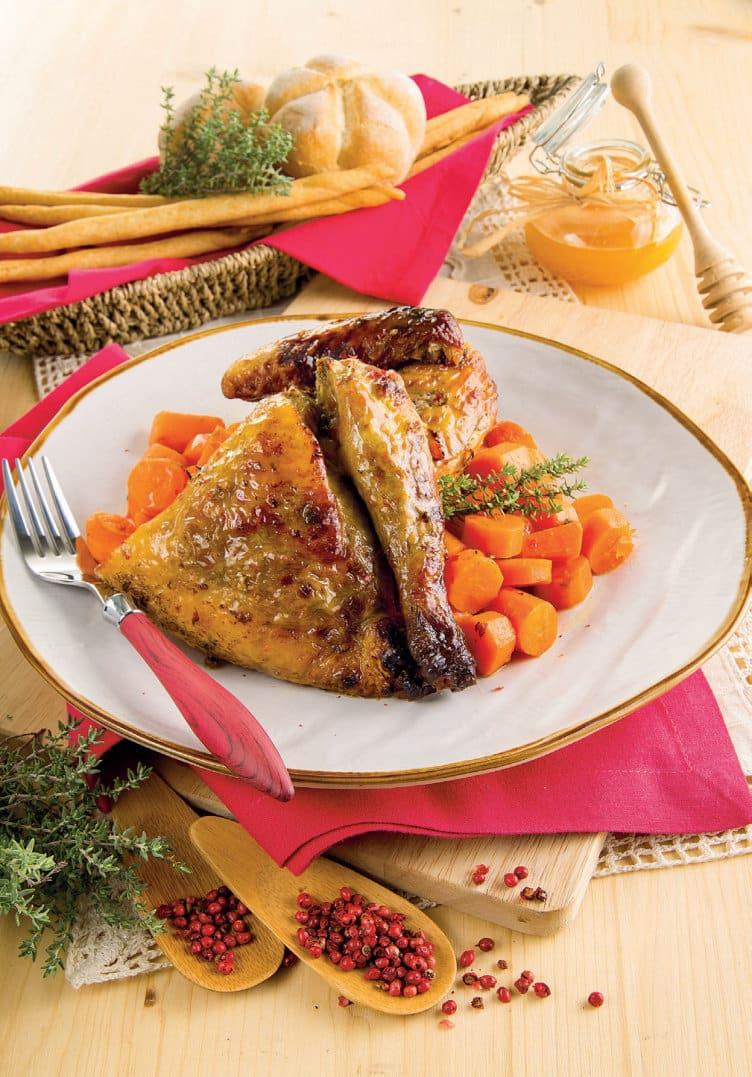 Come cucinare la faraona: al forno con pepe e miele | Chef ...