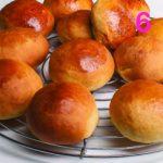 Ricetta dei panini dolci soffici per la colazione
