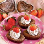 Tortini al cioccolato fondente e panna, ricetta senza glutine