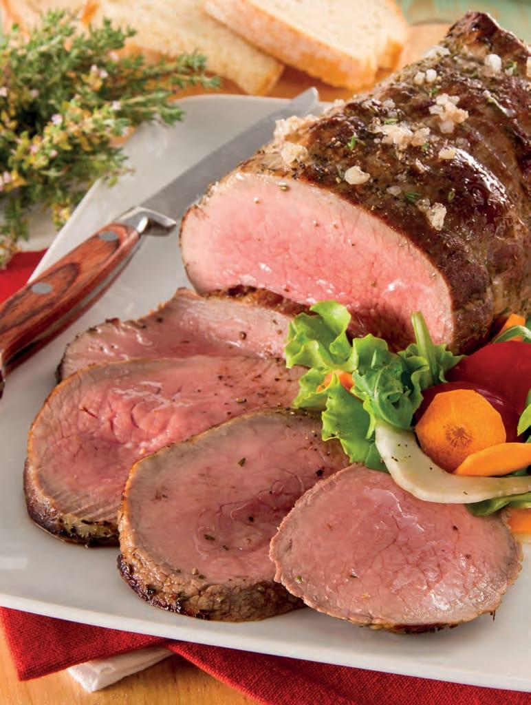 Roast beef con salsa di zenzero e lime, ricetta facile
