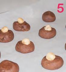 Biscotti al cioccolato e nocciole senza glutine