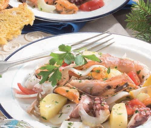 Editoriale: salmone, lasagne e dolci per il menù delle Feste