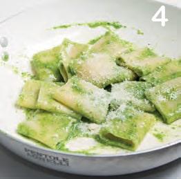 Paccheri con crema al basilico (o pesto senza pinoli)