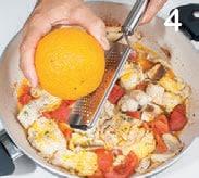 Zuppa di pesce con gamberi e zafferano