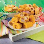 Paccheri fritti con scamorza e ricotta, ricetta illustrata
