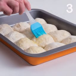Pagnotte integrali alle patate farcite con spinaci
