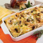 Lasagne ai funghi e prosciutto cotto: un superprimo da mangiare in famiglia!
