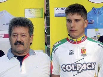 Fausto Masnada colleziona vittorie per l'Uc Bergamasca Astro