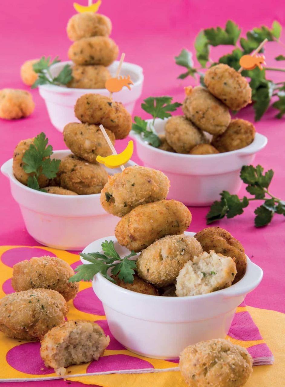 Crocchette piccanti di pollo arrosto e patate
