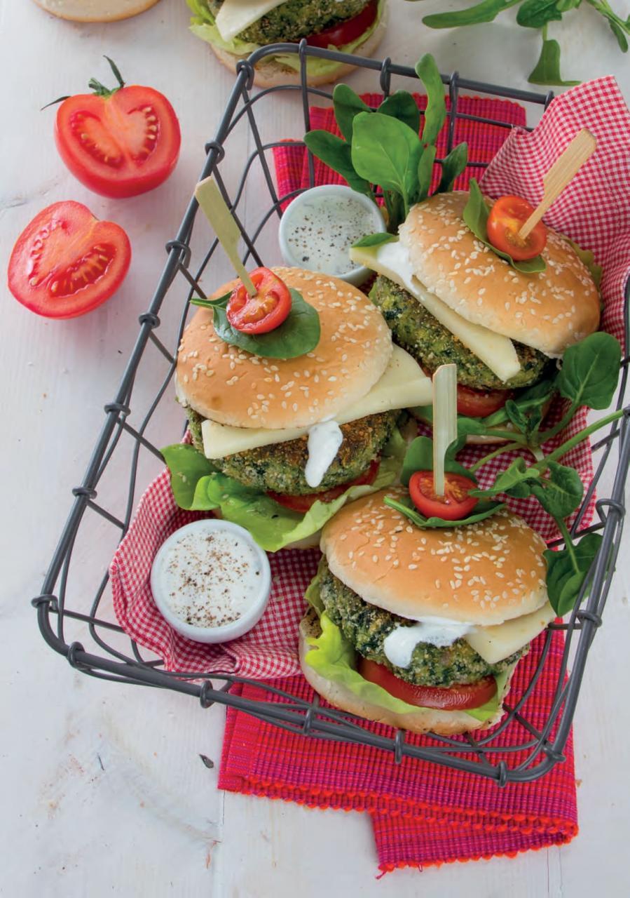 Conosciuto Hamburger di spinaci e prosciutto cotto con il provolone | Chef di DJ63