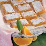 Trancetti soffici con crema all'arancia: ricetta semplice