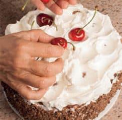 Torta della Foresta nera: ciliegie e panna per un dolce magnifico