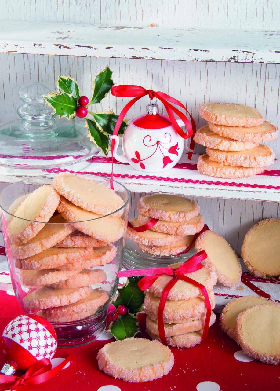 Biscotti alla panna aromatizzati alla vaniglia e limone