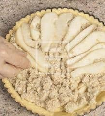 Ricetta della Pie di pere e fiocchi d'avena