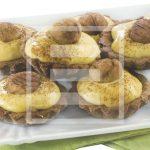 Crostatine con farcia alle castagne: ricetta facile