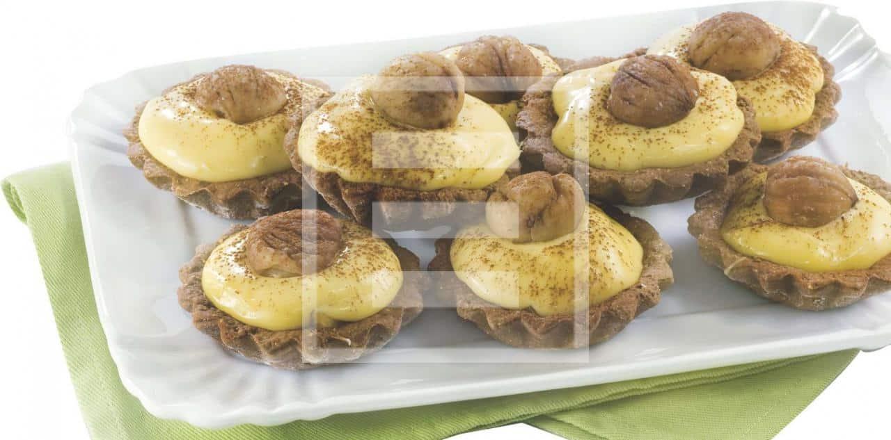 crostatine castagne ricetta