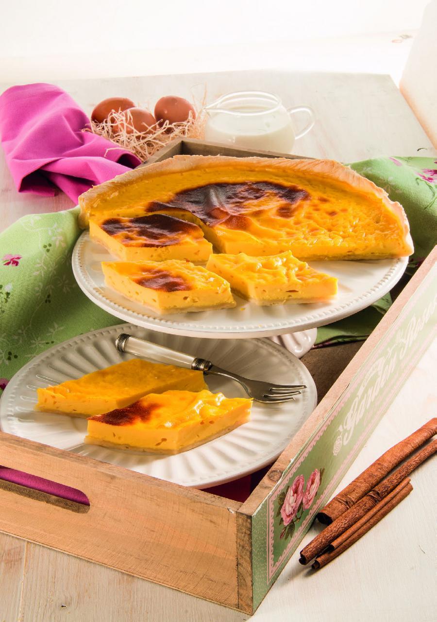 Lattaiolo toscano: dolce a base di latte e uova