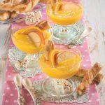Crema all'arancia e mela: un dessert al cucchiaio leggero