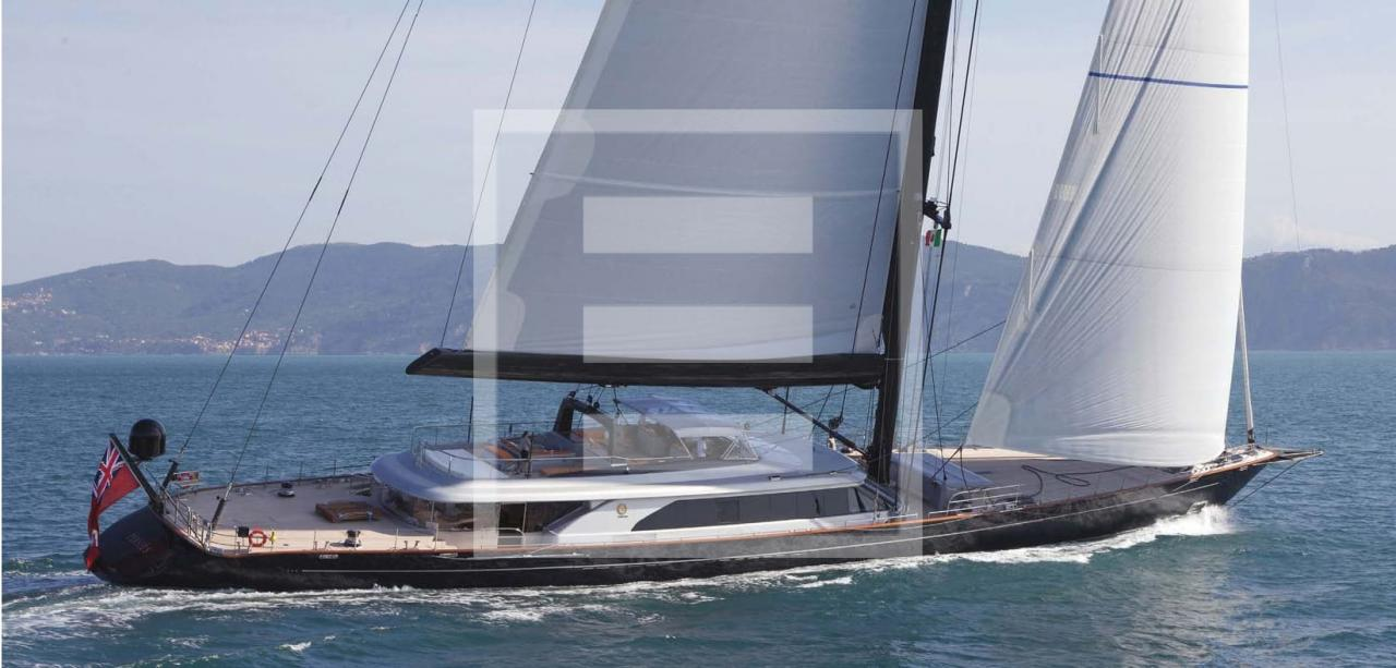 The new Perseusˆ3 yacht of Perini Navi