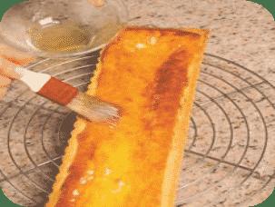 Crostata tre farine con Strega e sciroppo al lime