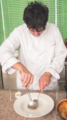 Spaghetti di Gragnano con mazzancolle e pepe di Sechuan