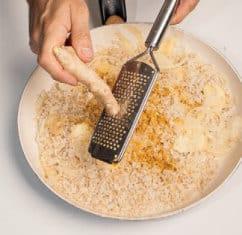 Ricetta del risotto al curry con zenzero e mela