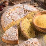 Torta con farina di mais, castagne e mandorle: la ricetta