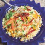 Cous cous vegetariano con pomodori secchi e peperoni