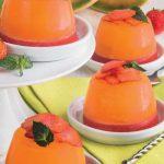 Budini due gusti al melone e fragole: l'estate in un dessert!
