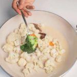 Tris di verdure (broccoli, carote e cavolfiore) alle acciughe