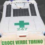 L'ambulanza fotovoltaica della Croce Verde al Salone del Libro