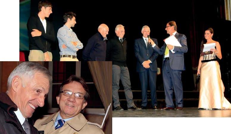 Metti Eddy Merckx e il maestro Adorni sullo stesso palco…