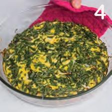 Frittata di bietole: verdura e proteine per un antipasto completo