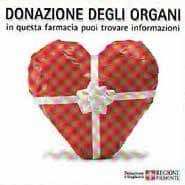 Donazione di organi: ora puoi informarti in farmacia