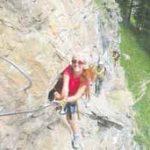 Ecco l'itinerario della ferrata di Casimiro, in Valle d'Aosta