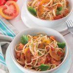 Spaghetti con la bottarga di muggine: gusto e leggerezza