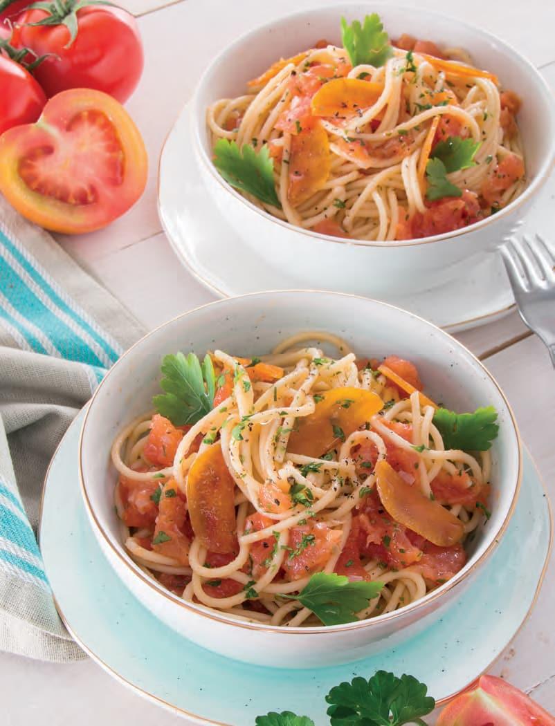 Spaghetti con la bottarga di muggine
