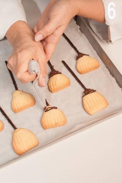 Le scope della Befana: biscotti mandorle e cioccolato