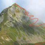 Svizzera, picco di Tschuggen: una guglia isolata con vista sull'Eiger