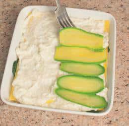Lasagne alla ricotta con bietole e zucchine