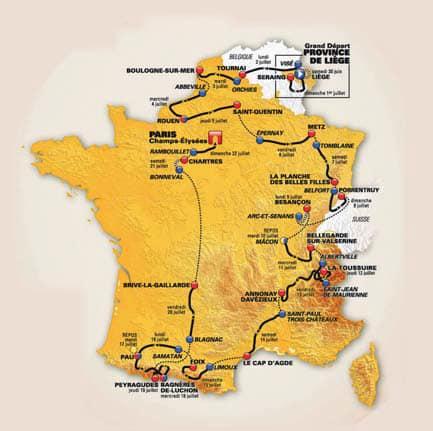 Il nuovo Tour de France tutto in salita. Parola di Christian Prudhomme