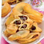 Ricetta dei Tortellini fritti con crema alle nocciole senza glutine