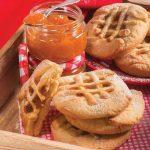 Crostatine sfiziose con lo zenzero e marmellata di albicocche