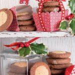 Biscotti con farina di mandorle, nocciole e cacao