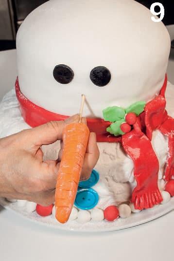 Torta pupazzo di neve: il dolce più bello per Natale