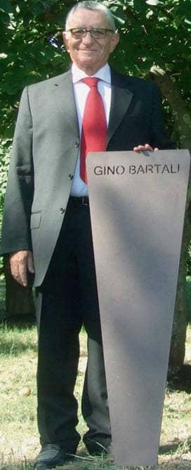 Padova, un albero per Gino Bartali, che pedalava per salvare gli ebrei